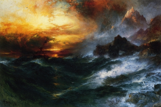 A_Mountain_of_Loadstone_Thomas_Moran_1898