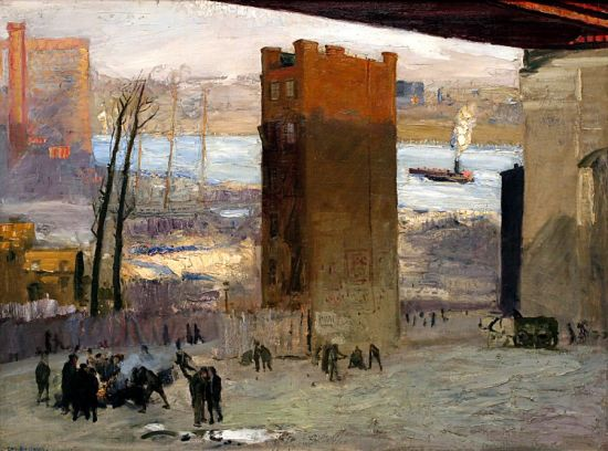 'The Lone Tenement' George Bellows