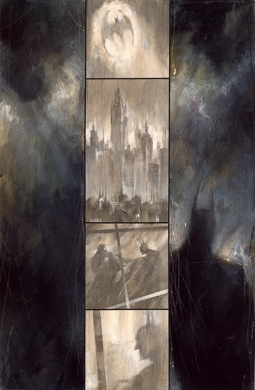 Dave McKean- Arkham Asylum
