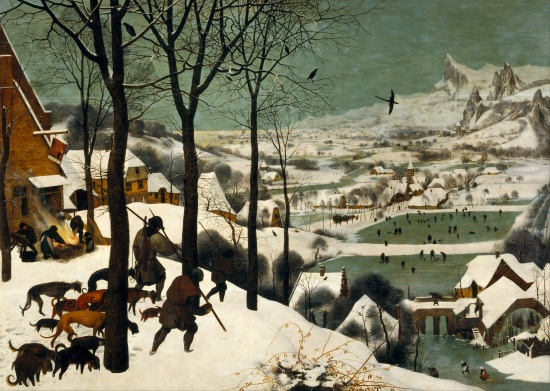'Hunters In The Snow'