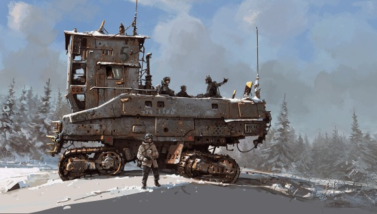 'Troop Carrier' Ian McQue